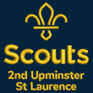 2nd Upminster Scouts Adult Polo Design